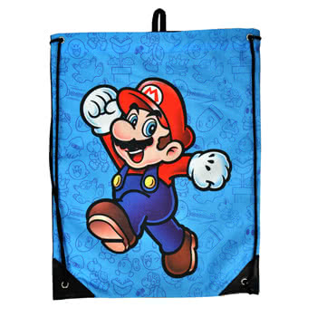 Nintendo Mario Gym Bag (Blue)