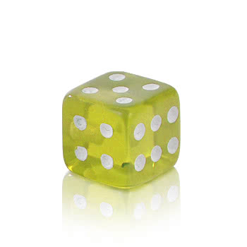 Novelty UV Dice Add On (Yellow)