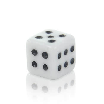 Novelty Dice 5mm Add On (White)