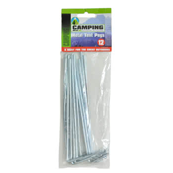 Pack of 12 Festival Tent Pegs