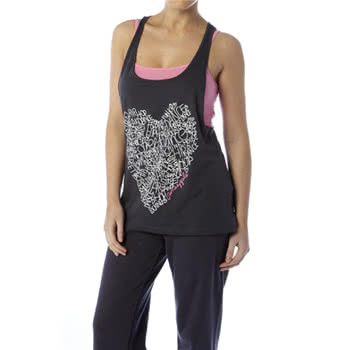 Pineapple Heart Vest (Black)