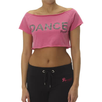 Pineapple Pop Crop Top (Pink)
