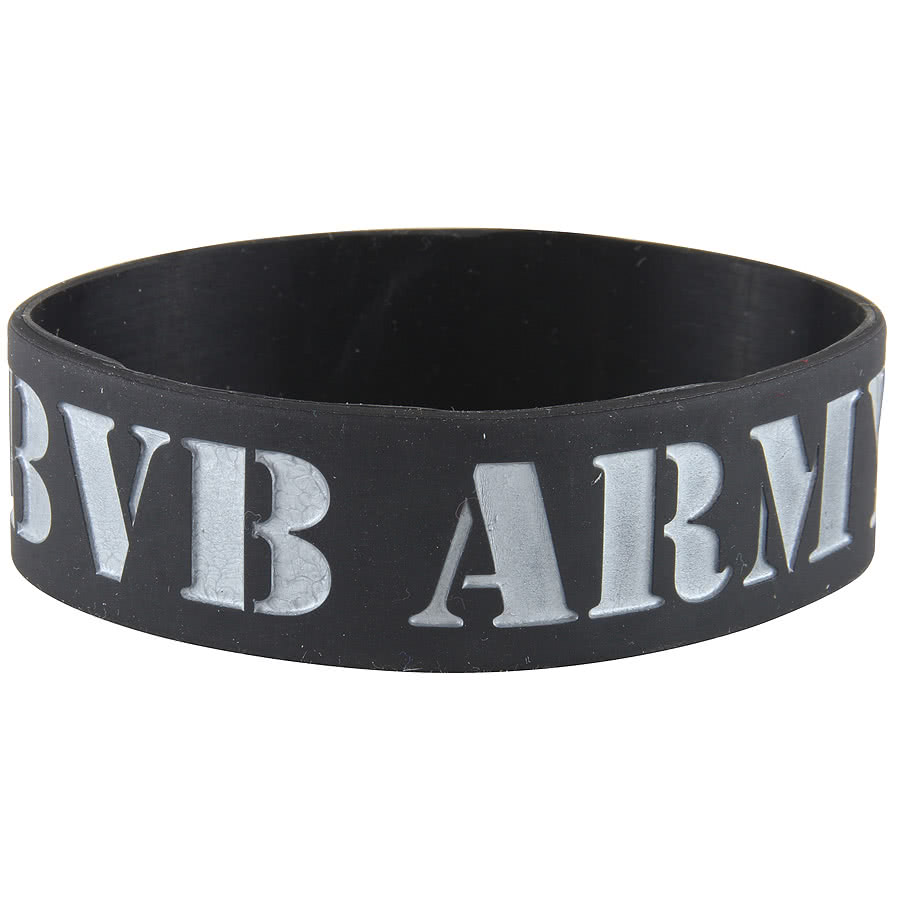 Rokk Bands Black Veil Brides Troops Wristband (Black)