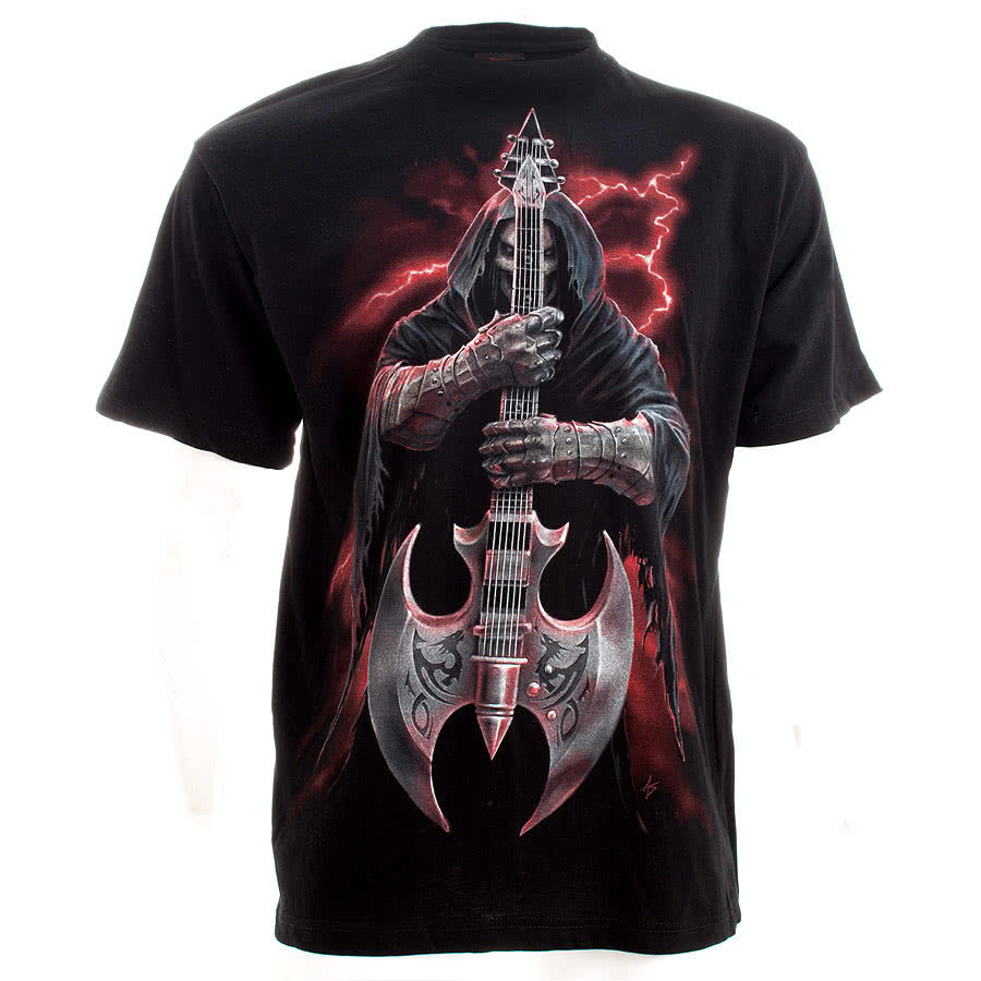 Spiral Direct Rock God T Shirt (Black)