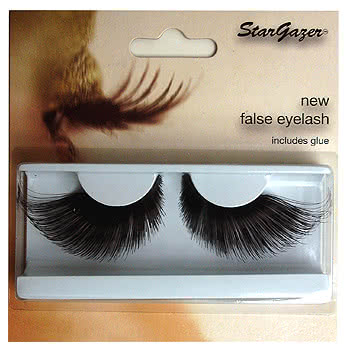 Stargazer Black Long False Eye Lashes