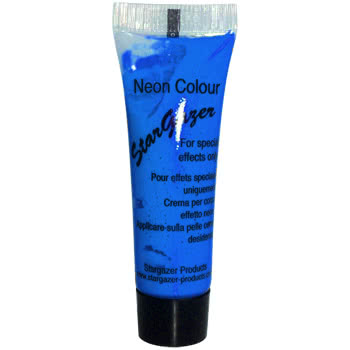 Stargazer Tube of Neon Special Effects Face and Body Paint (Blue)