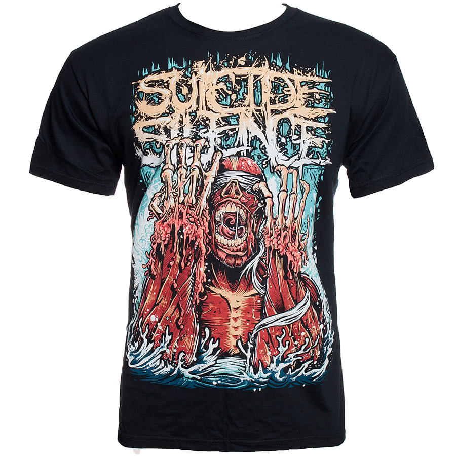 Suicide Silence Meltdown T Shirt (Black)