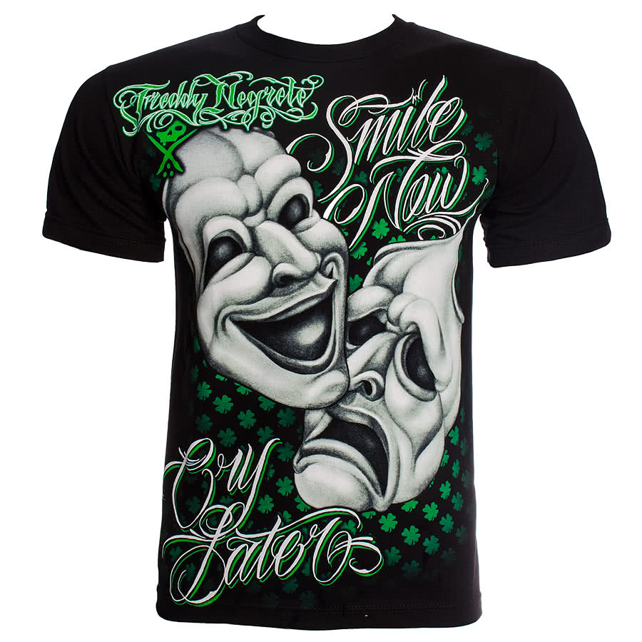 Sullen Freddy Negrete T Shirt (Black)