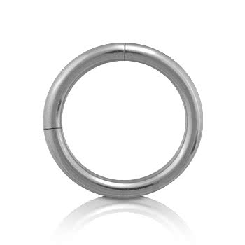 Blue Banana Steel Segment Ring 1.6mm