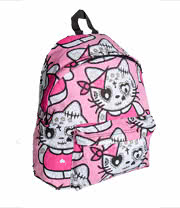 Bleeding Heart Kat Backpack (Pink)