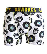 Bawbags Chemical Guy Boxers (White)