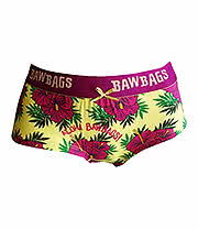 Baw Bags Birds Aloha Girls Briefs (Multi)
