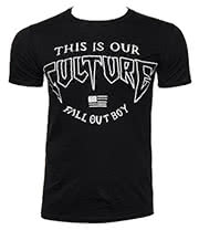 Fall Out Boy Culture T Shirt (Black)
