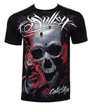 Sullen Art Distortion T Shirt (Black)