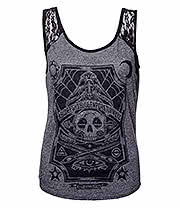 Sullen Angels Tattoo Board Vest (Grey)