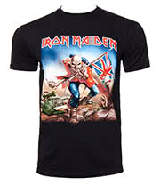Iron Maiden Trooper T Shirt (Black)