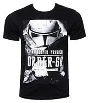 Star Wars Trooper Order 66 T Shirt (Black)