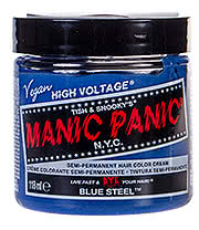 Manic Panic Classic Semi Permanent Hair Dye 118ml (Blue Steel)