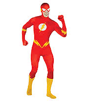 Rubies 2nd Skin The Flash Jumpsuit