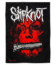 Slipknot Flag (Black/Red)
