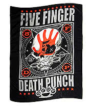 Five Finger Death Punch Flag