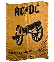 AC/DC Those About To Rock Flag