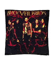 Black Veil Brides Band Cushion (40cm x 40cm)