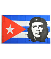 Blue Banana Che Flag