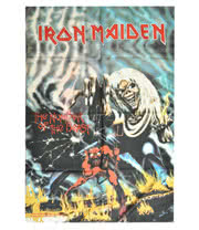 Iron Maiden Number Of The Beast Flag