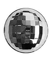 Mirrorball Belt Buckle (Silver)