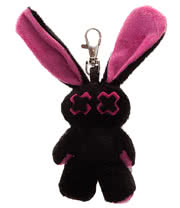 Luv Bunny by Poizen Industries Minxy Keyring (Pink)