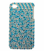 Blue Banana Crystal Phone Case (Blue)