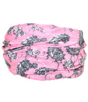 Blue Banana Medium Paisley Headband (Pink)