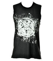 Lip Service Millennium Moon Mens Sleeveless Top (Black)
