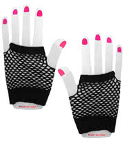 Panja Short Net Gloves (Black)