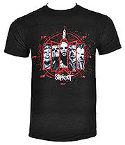 Slipknot Paul Gray T Shirt (Black)