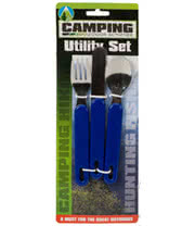 3 Piece Camping Utility Set (Blue)