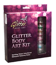 Glitter Art Large Body Art Kit