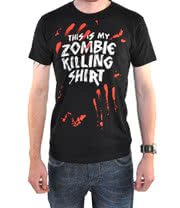 Goodie Two Sleeves Zombie Killer T Shirt