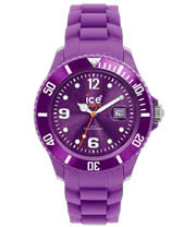 Ice Watch Silicon Purple Watch (Large)
