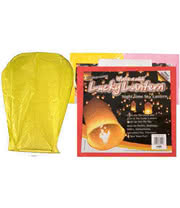 'Make A Wish' Lantern (Yellow)