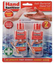 Hand Sanitizer Anti-Bacterial Gel (Twin Pack)