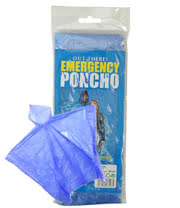 Emergency Poncho (Blue)