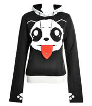 Killer Panda By Poizen Industries Lick Hoodie