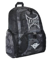 Tapout Camo Backpack (Black)