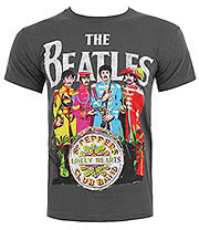 The Beatles Sgt Pepper Print T Shirt