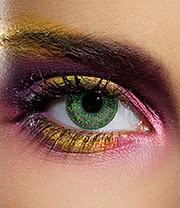 EDIT 90 Day Mystic Coloured Contact Lenses (Green)