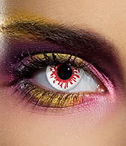 EDIT 90 Day Blood Splat Coloured Contact Lenses (Red)