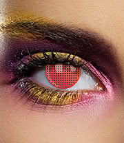 EDIT 90 Day Coloured Contact Lenses (Mesh Red)