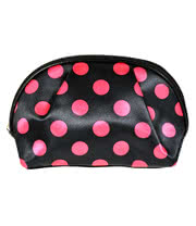 Blue Banana Spots Make Up Bag (Pink)